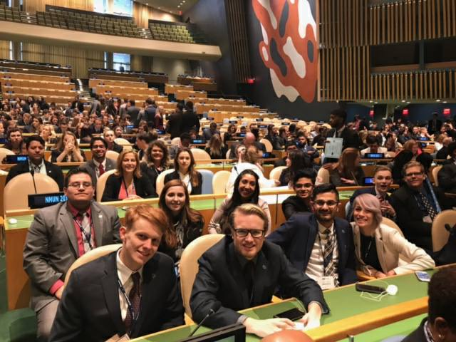 RCCMUN NY Team 2017 in UNGAH