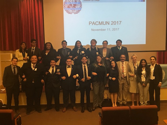 RCCMUN Team at PACMUN